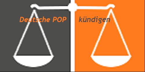 Deutsche POP kündigen